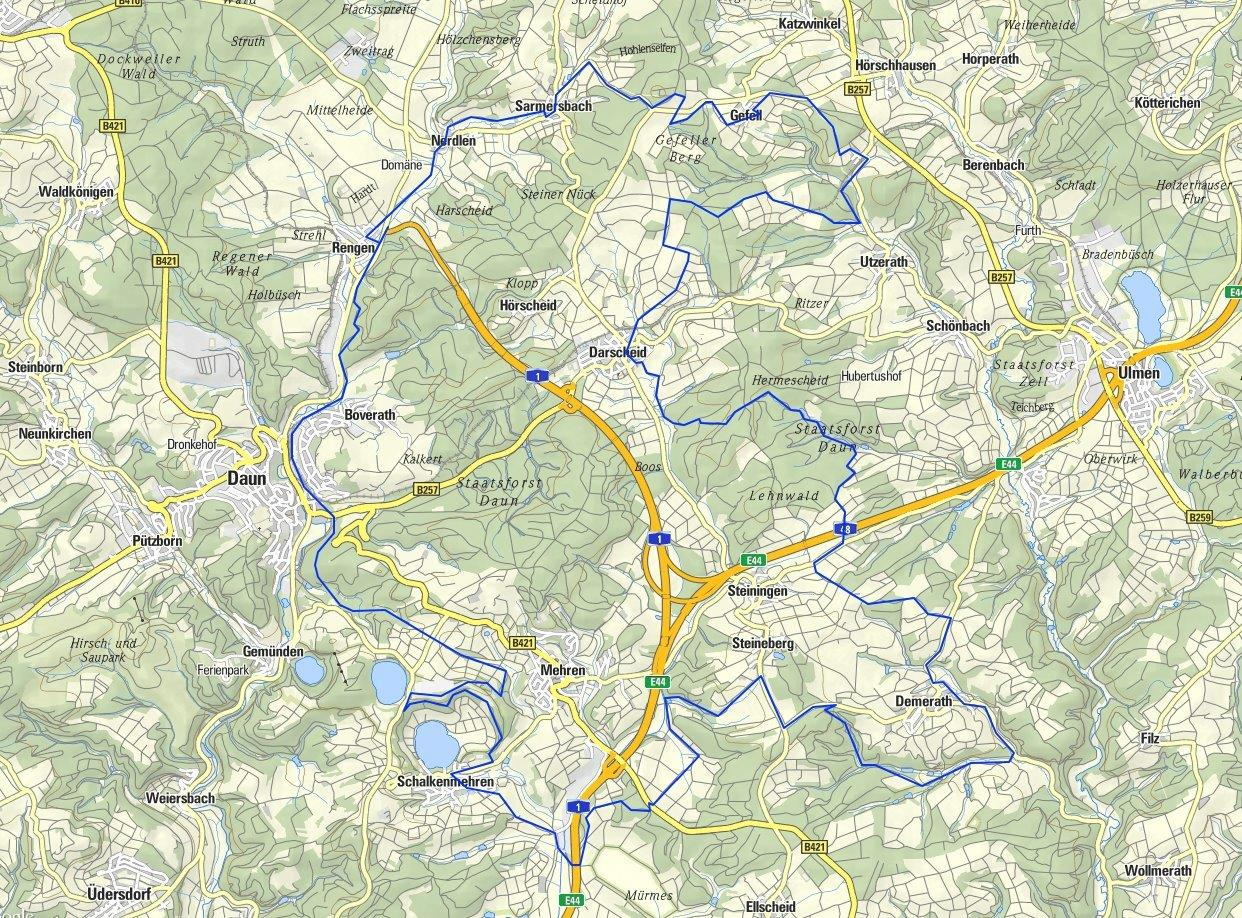 Heinrichs 50 km_DAUN