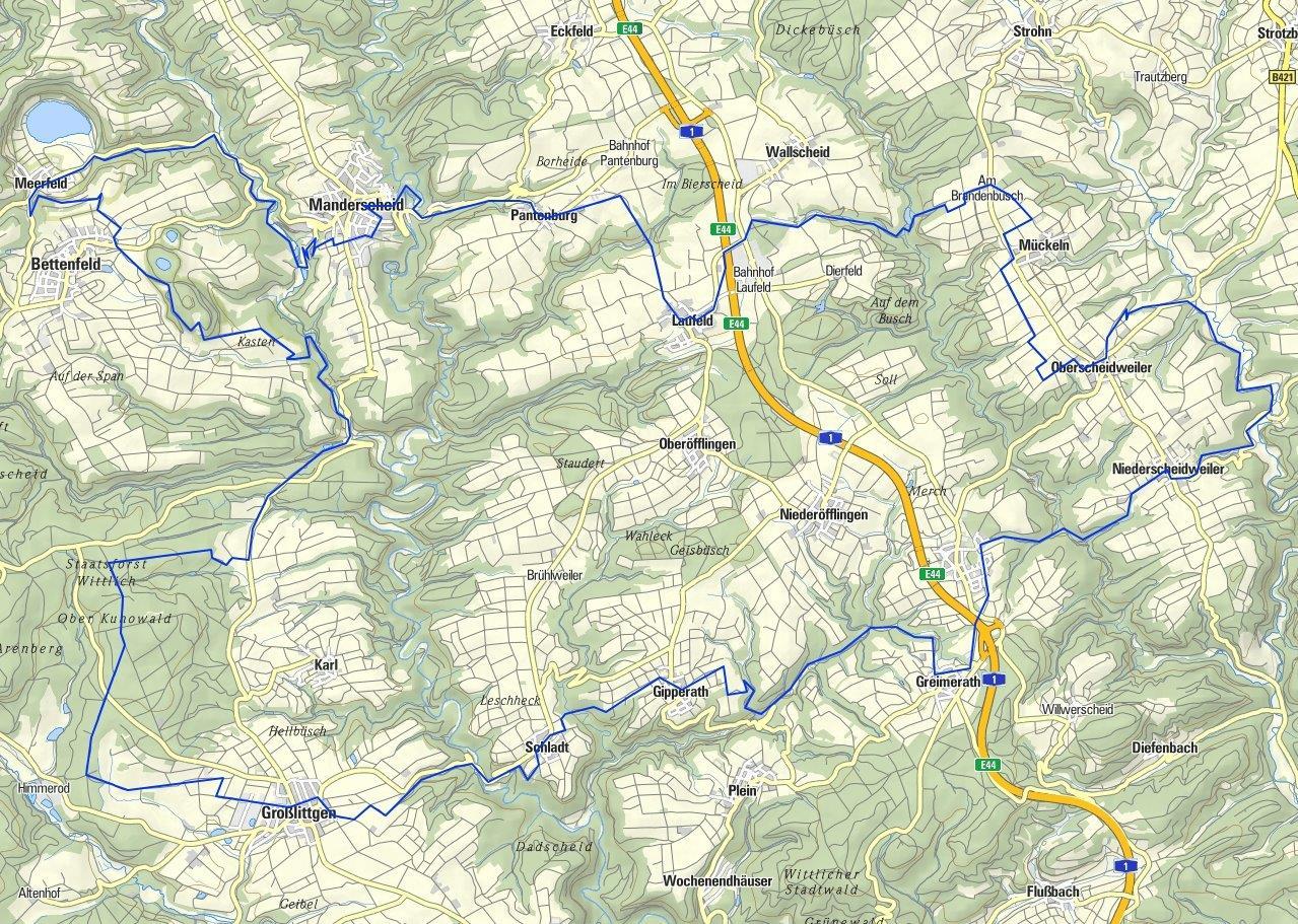 Horst 62 km_MANDERSCHEID